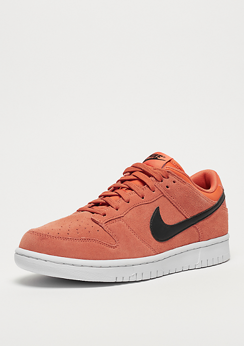 NIKE Dunk Low trace orange/black/white