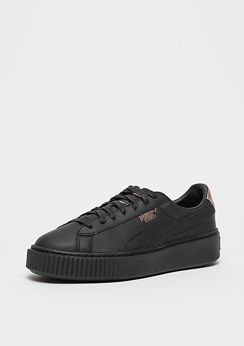 Puma Basket Platform Euphoria black-rose gold
