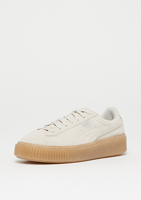 Puma Suede Platform Jewel Junior whisper white-whisper white