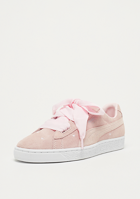 Puma Suede Heart Valentine pearl-pearl