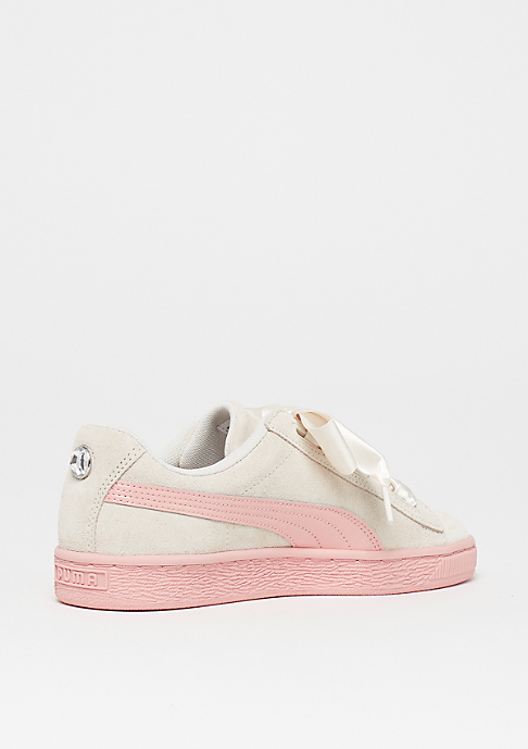Puma Suede Heart Jewel Junior whisper white-peach beige