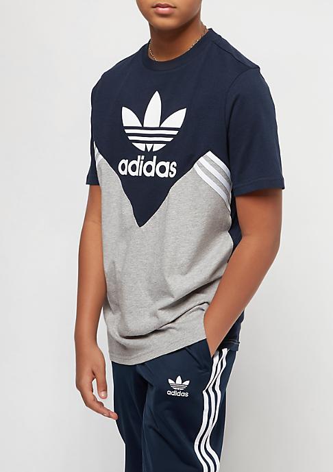 adidas Junior M FL collegiate navy/medium grey heather/white