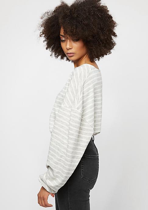 Urban Classics Oversize Stripe grey/white