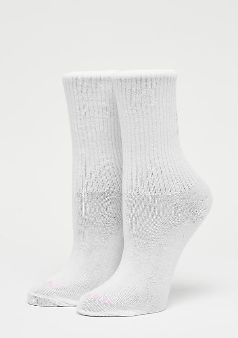 SNIPES XOXO Socks white/pink
