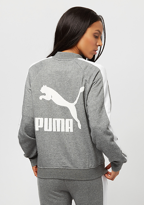 Puma Classics Logo T7 medium gray heather