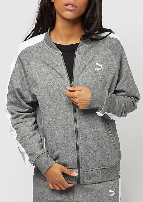 Puma Classics Logo T7 medium gray heather