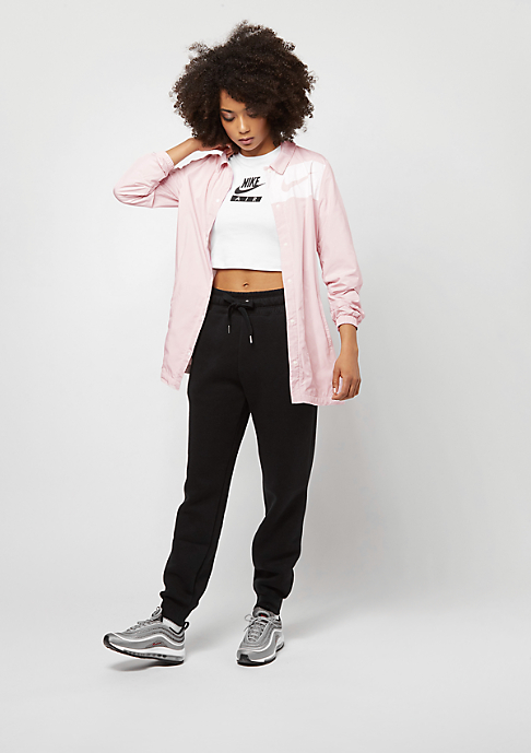 NIKE JKT SWSH barely rose/white