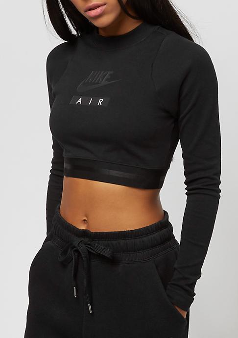 NIKE Crop Air black/black/black