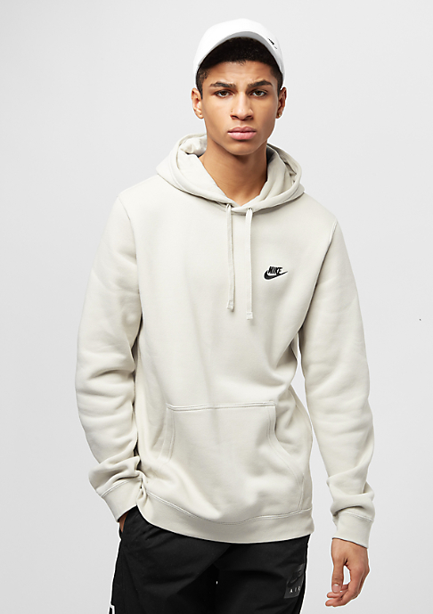 NIKE PO Fleece Club light bone/light bone/black