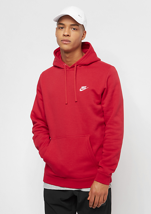 NIKE Sportswear university red/university red/white