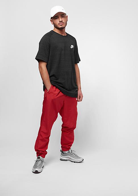NIKE AV15 Top Knit black/htr/white