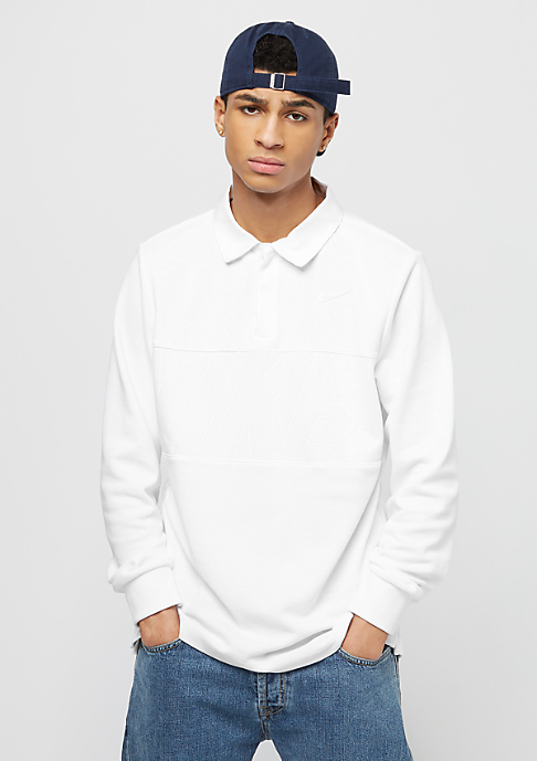 NIKE SB Dry Top Rugby white/white