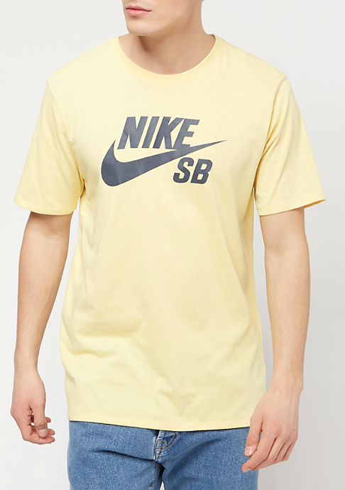NIKE SB Logo lemon wash/thunder blue