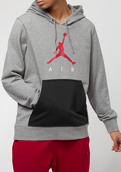 JORDAN Jumpman Air LWT FLC carbon heather/black/gym red