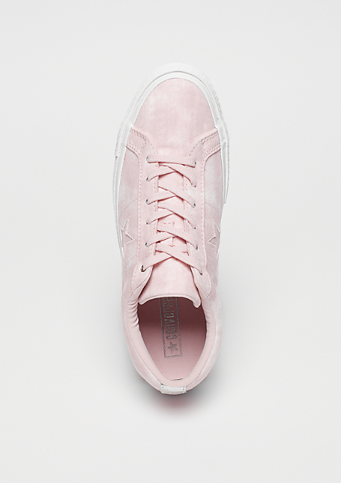 Converse One Star OX barely rose/barely rose/white