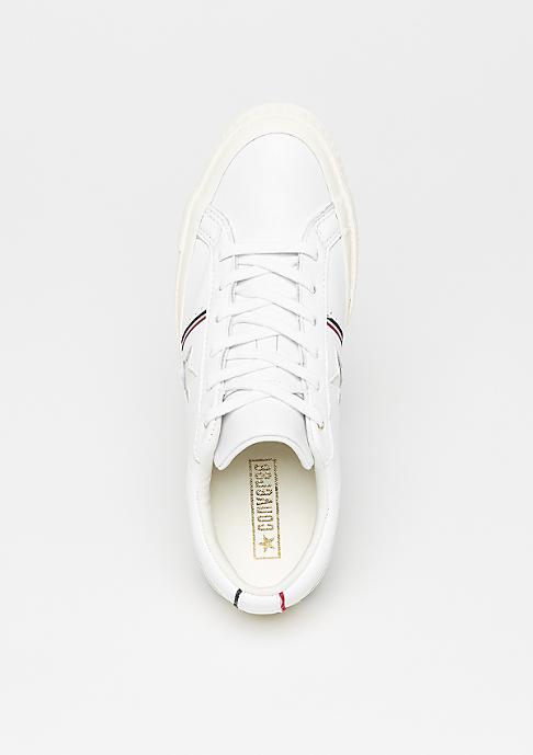 Converse One Star OX white/enamel red/egret