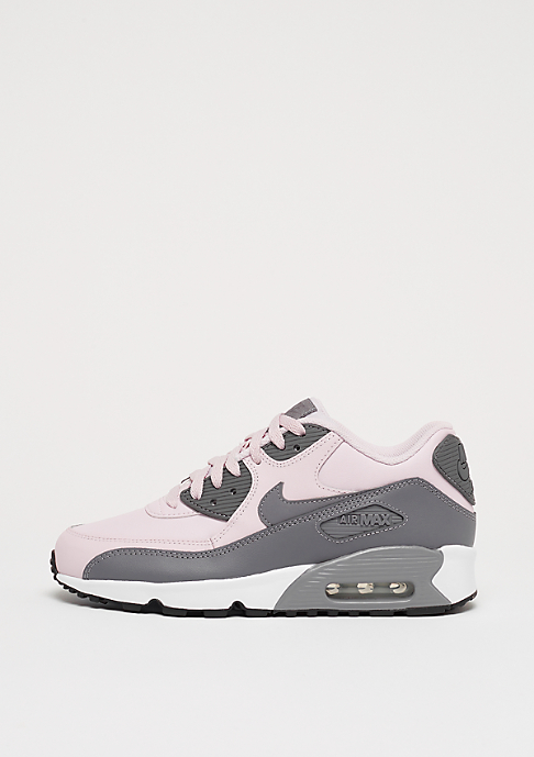 NIKE Air Max 90 Leather (GS) barely rose/gunsmoke-white-black