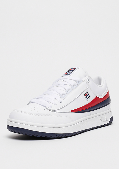 Fila Men Heritage T1 mid white/FILA navy/FILA red