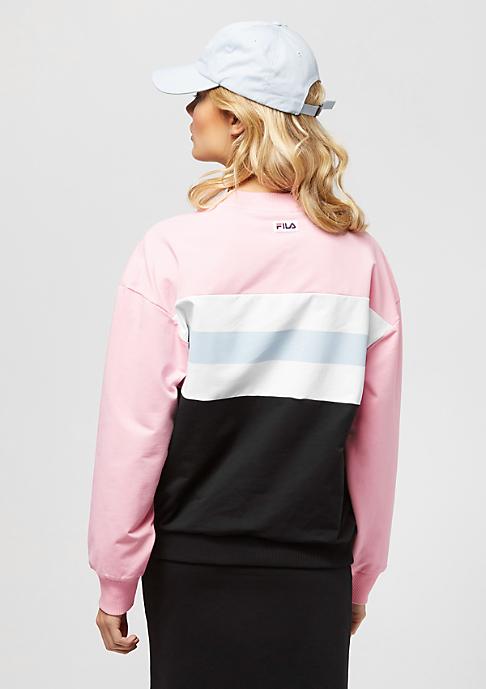 Fila Urban Line Sweatshirt crew Angela coral blush/bright wh