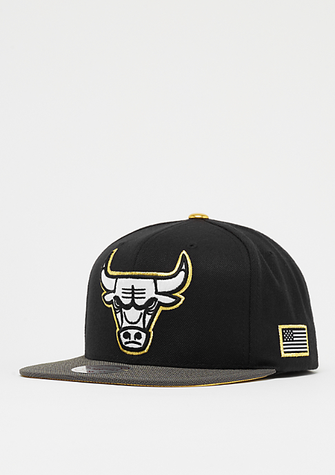 Mitchell & Ness Gold Tip NBA Chicago Bulls black
