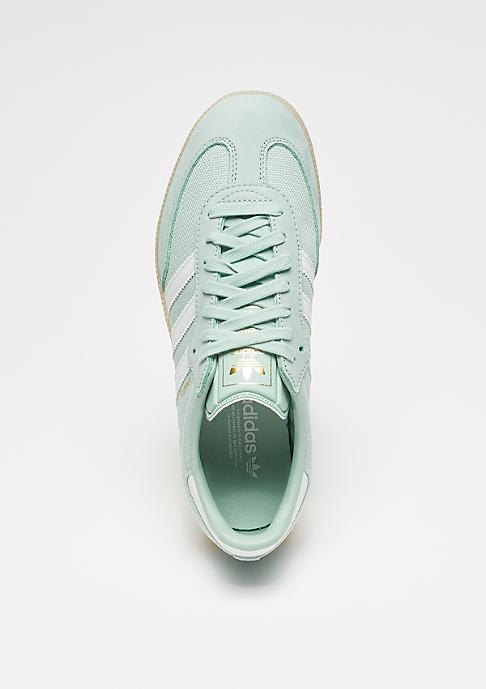 adidas Samba ash green/crystal white/linen