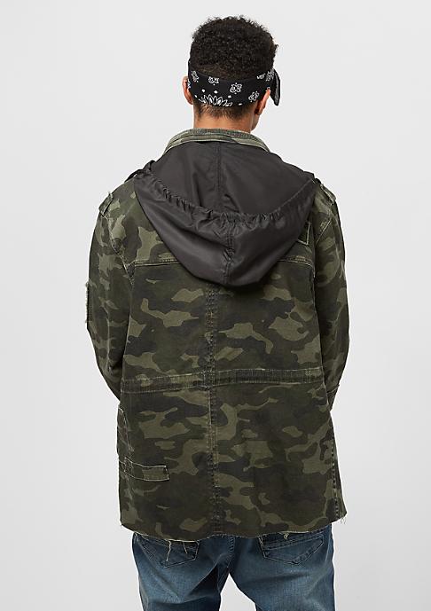 Cayler & Sons ALLDD Army Jacket Denim woodland camo