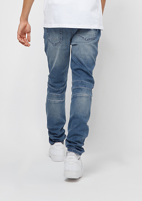 Cayler & Sons ALLDD Paneled Ian Denim Pants mid blue