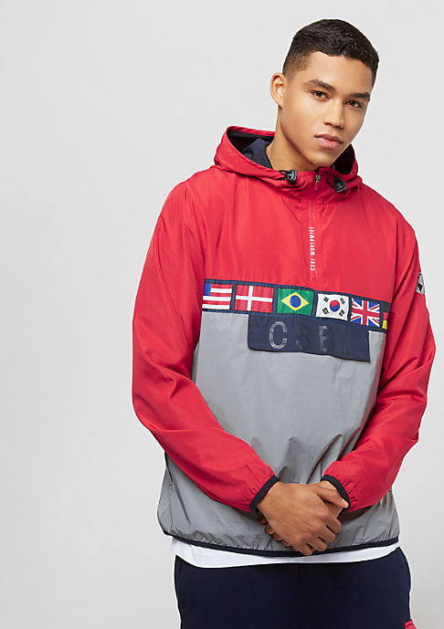 Cayler & Sons BL Worldwide Windbreaker red reflective
