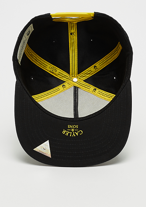 Cayler & Sons WL Lifted Cap black/yellow