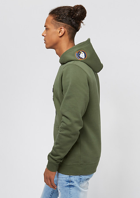 Cayler & Sons BL Patched olive/white