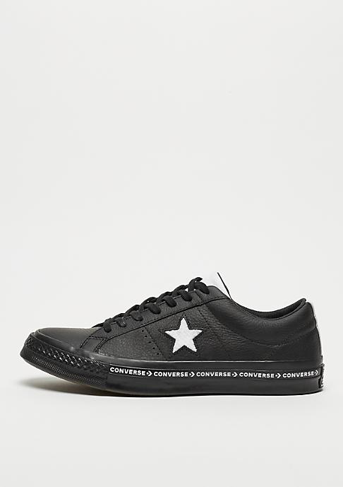 Converse One Star Ox black/white/black
