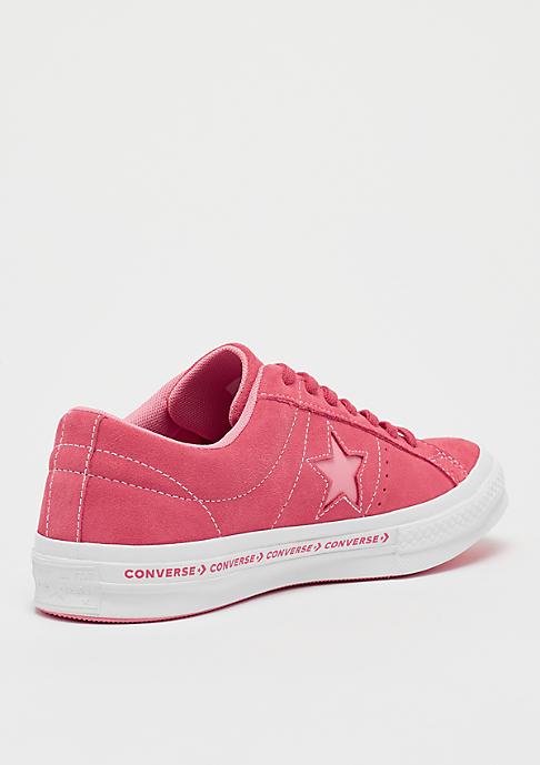 Converse One Star Ox paradise pink/geranium pink/white/black