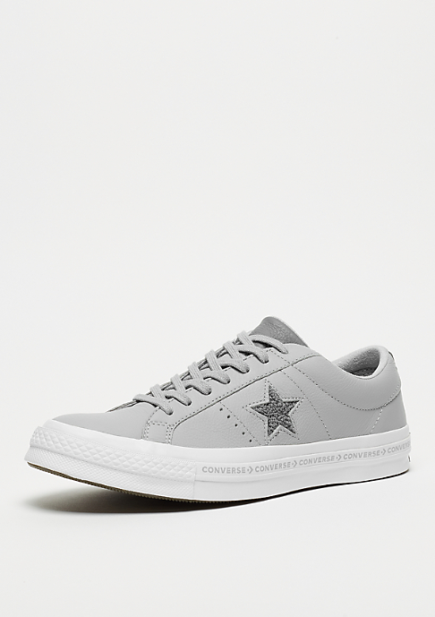 Converse One Star Ox wolf grey/ccol grey/white/black