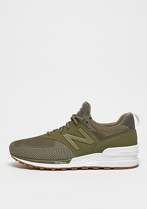 New Balance MS574EMO truimph green