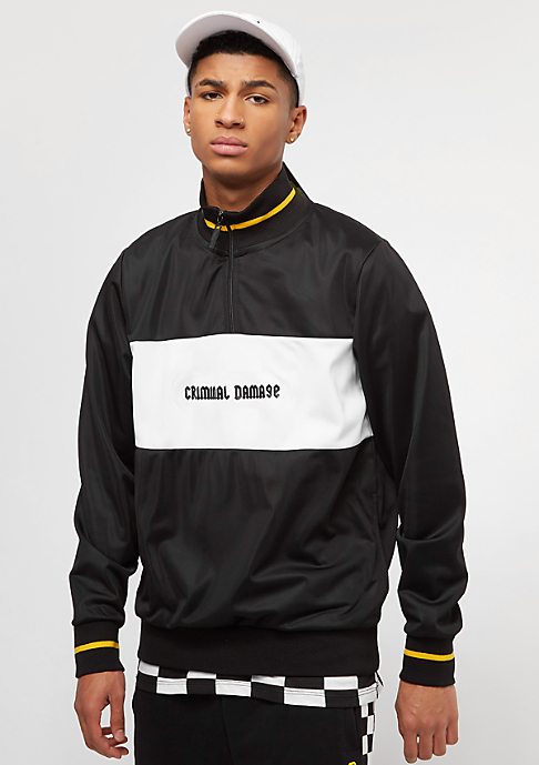 Criminal Damage Zip Top Flying black/white