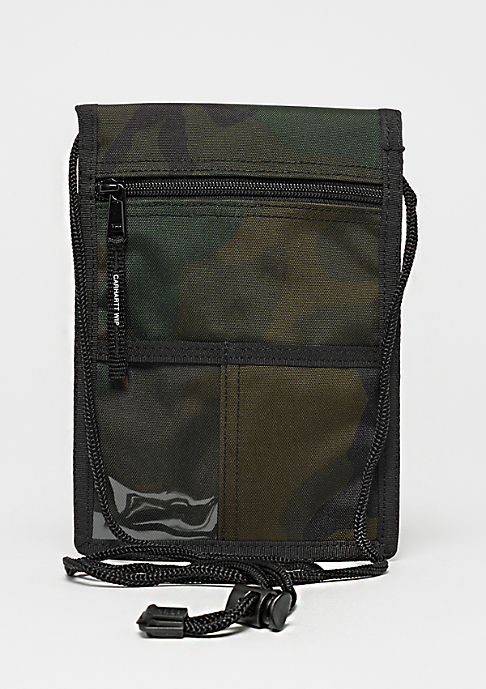 Carhartt WIP Collins Neck Pouch camo combat green