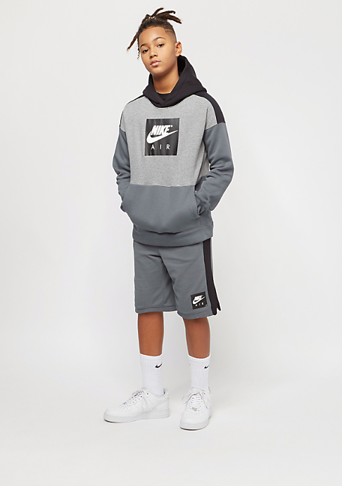 NIKE Junior Air dark grey/black/white