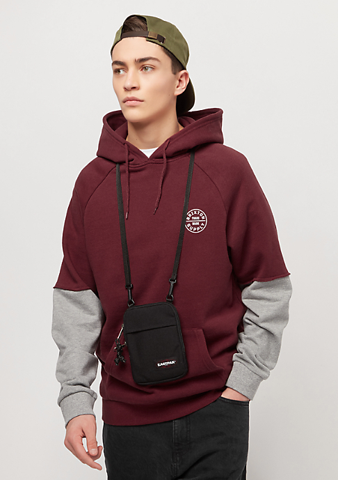 Brixton Oath burgundy/heather grey