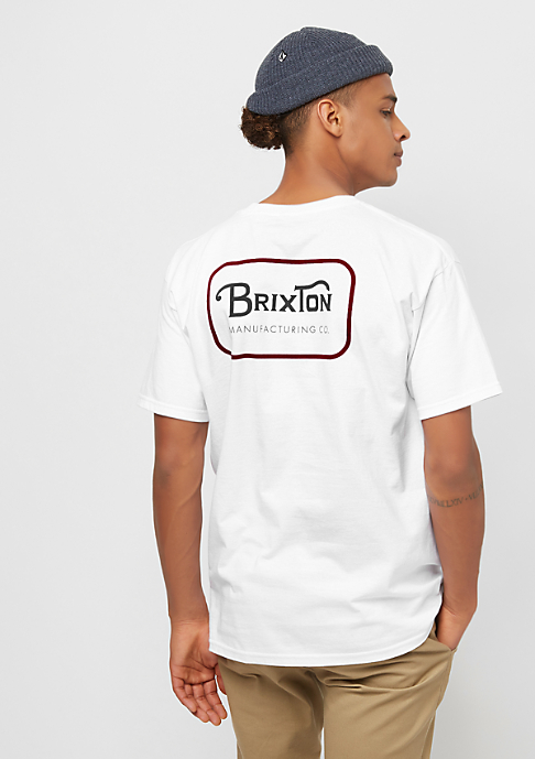 Brixton Grade white/red