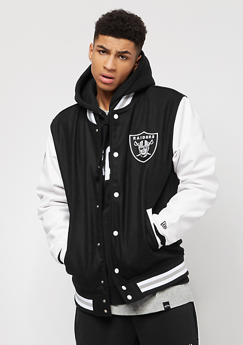 New Era Team Apparel Oakland Raiders black
