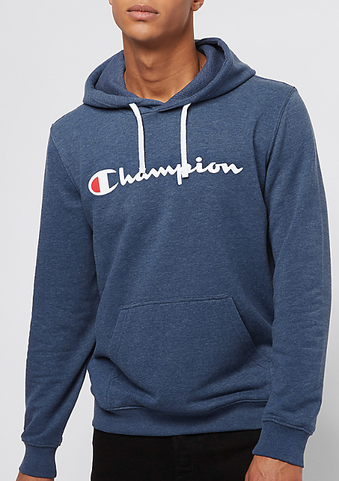 Champion Hooded Sweatshirt navy