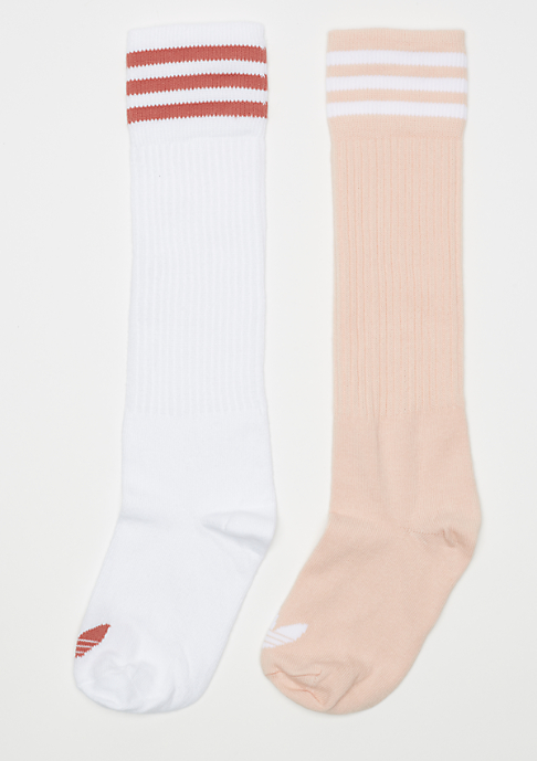 adidas Solid Knee 2PP Color Pack blush pink/white