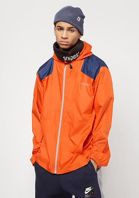 Columbia Sportswear Flashback heatwave/carbon/columbia grey zipper