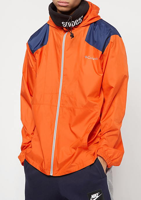 Columbia Sportswear Flashback heatwave/carbon/columbia grey zipper