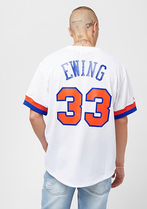 Mitchell & Ness NBA New York Knicks Patrick Ewing white/orange