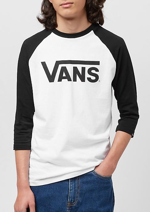 VANS Junior Classic Raglan white/black