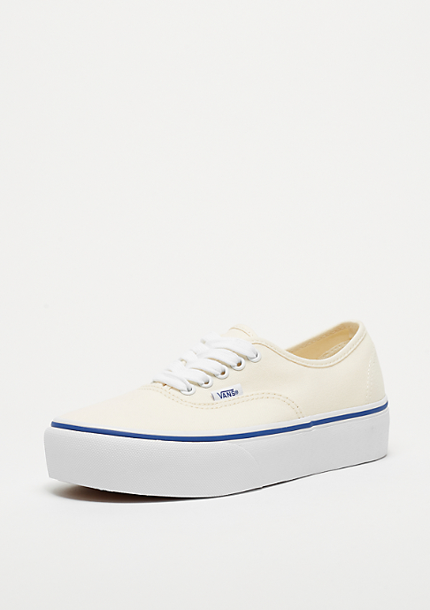 VANS UA Authentic Platform 2.0 Canvas classic white/true white