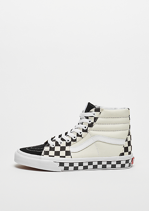 VANS UA SK8-Hi checker sidewall black/true white