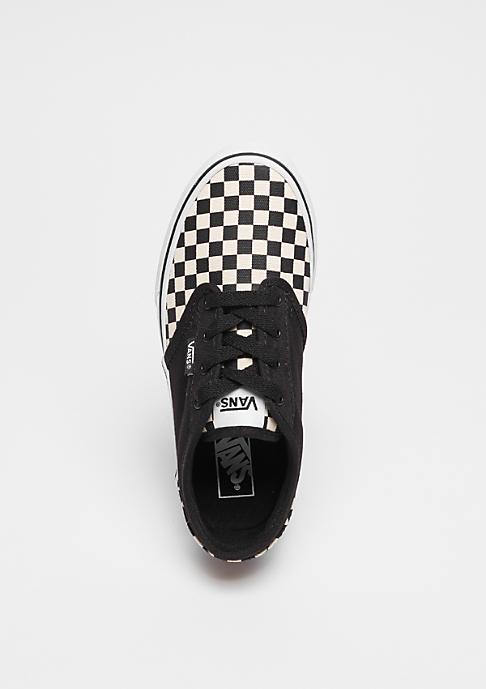 VANS YT Atwood checkerboard black/beige