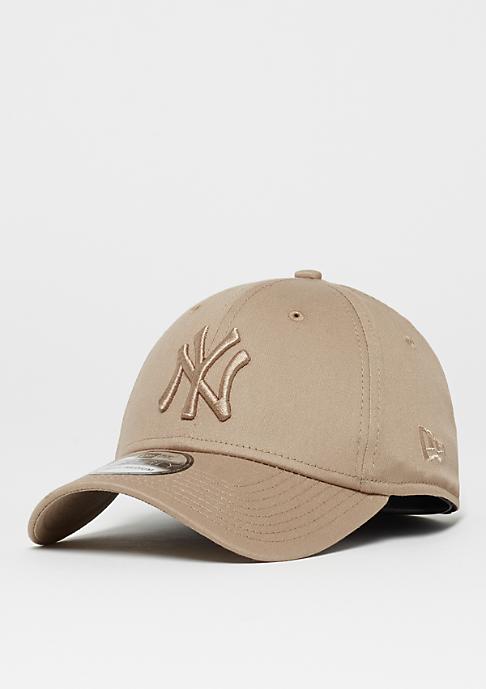 New Era 39Thirty MLB New York Yankees League Essential camel